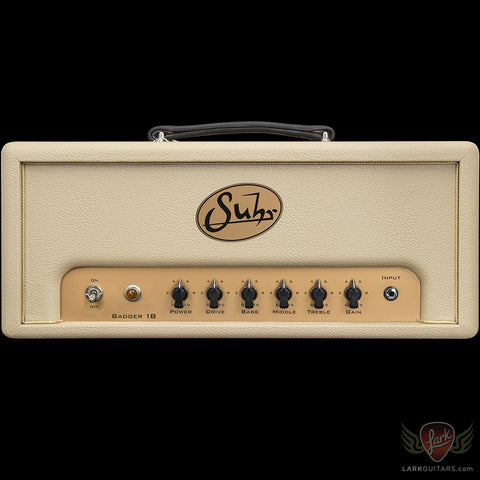 Suhr Badger 18 Head - Cream (954)