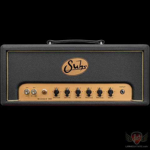 Suhr Badger 30 Head - Black (776)