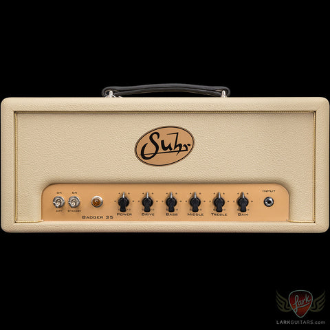 Suhr Badger 35 Head - Cream (317)