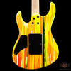 Suhr Custom Limited Edition 80's Shred MKII Ebony FB - Drip (J8J)