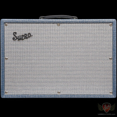 Supro 1650RT Royal Reverb 35/45/60-watt 2X10 Combo (081), Supro - Lark Guitars