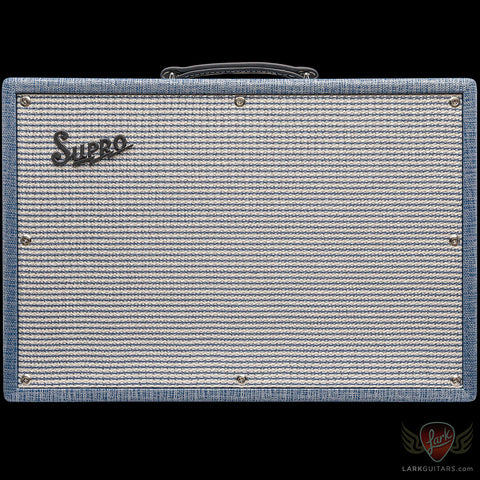 Supro 1650RT Royal Reverb 35/45/60-watt 2X10 Combo (081)