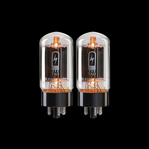 TAD 6L6WGC-STR Short Bottle Power Tubes - Matched Pair