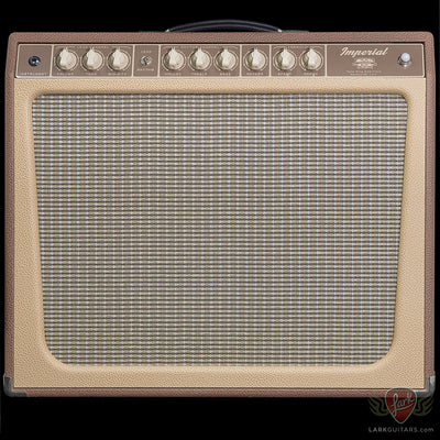 zSOLD* - Tone King 20th Anniversary Imperial - Brown & Cream (420) - Available at Lark Guitars