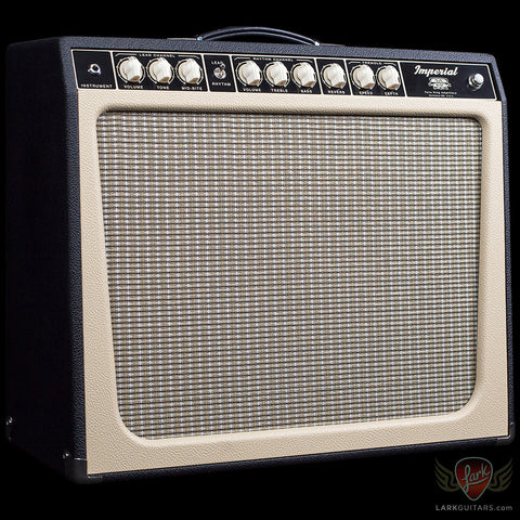 zSOLD - Tone King 20th Anniversary Imperial - Black & Cream (339)