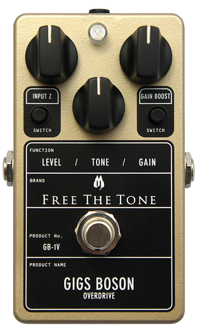 Free The Tone Standard Series GB-1V Gigs Boson Overdrive