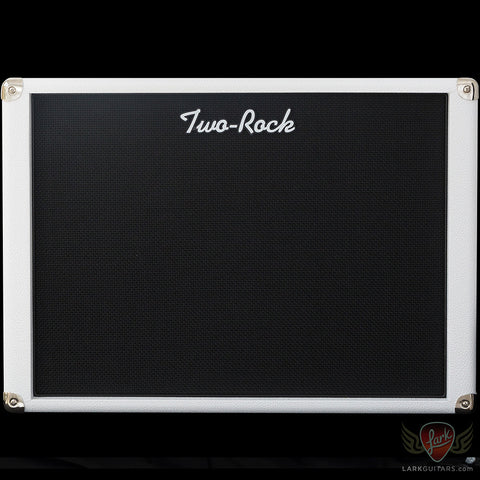 Two-Rock 1x12 Cabinet w/WGS 12-65B - White Bronco w/Black Grill - BLEM (927)