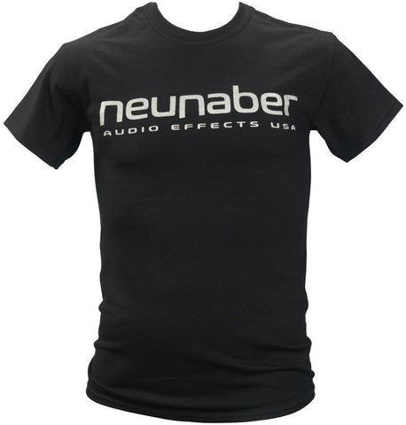 Neunaber Logo T-Shirt - Heather Black - Small - Available at Lark Guitars