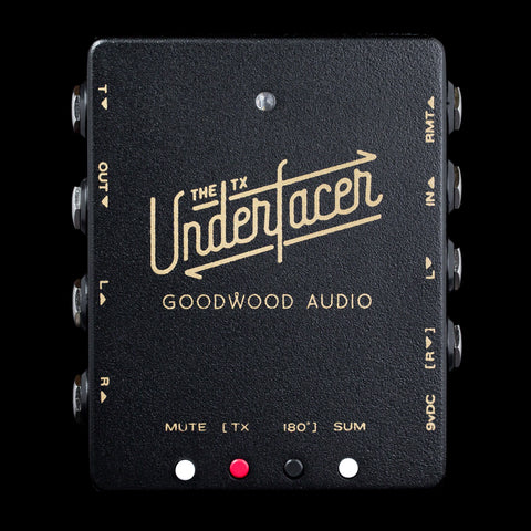 Goodwood Audio The Underfacer TX - Black