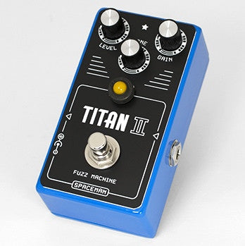 zSOLD - Spaceman Effects Titan II Fuzz Machine - Blue Edition LTD #37 of 177 (037)