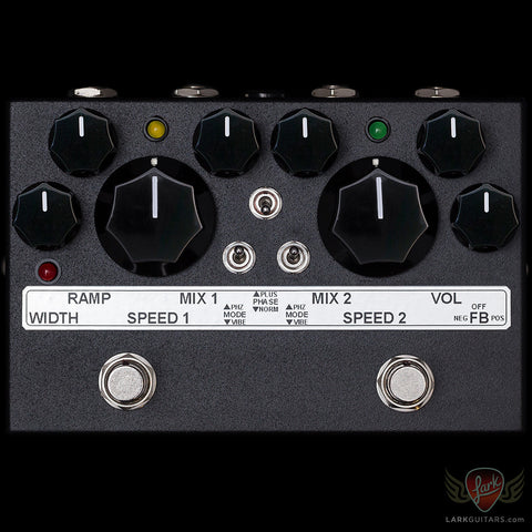 Toneczar Halophaze - Two Speed Multi-Stage Analog Phaser - Black (113)