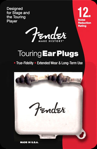Fender Touring Series Hi Fi Ear Plugs