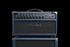 Two-Rock Prototype Custom Reverb Signature V3 50-watt Tube Rectified Head & 2x12 Cabinet w/G12H75 Creambacks - Blue Dragon (038) - Available at Lark Guitars