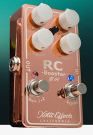 Xotic Effects Limited Edition RCB-SH RC Booster Scott Henderson Signature - Copper