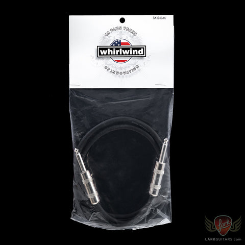 Whirlwind 3' Speaker Cable 16 Gauge 1/4 to 1/4