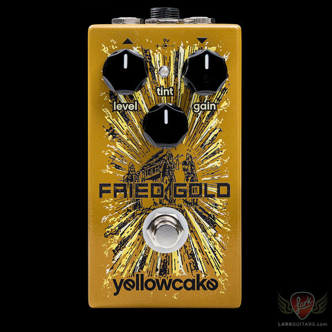 Yellowcake Pedals Fried Gold, Yellowcake Pedals - Lark Guitars