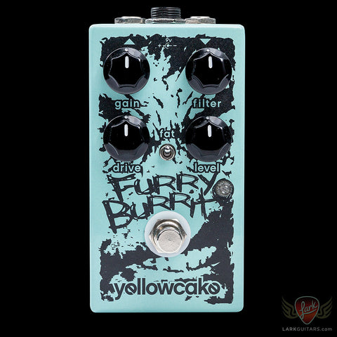 Yellowcake Pedals Furry Burrito, Yellowcake Pedals - Lark Guitars