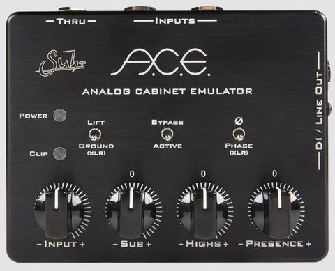 Suhr A.C.E Analog Cabinet Emulator - Available at Lark Guitars