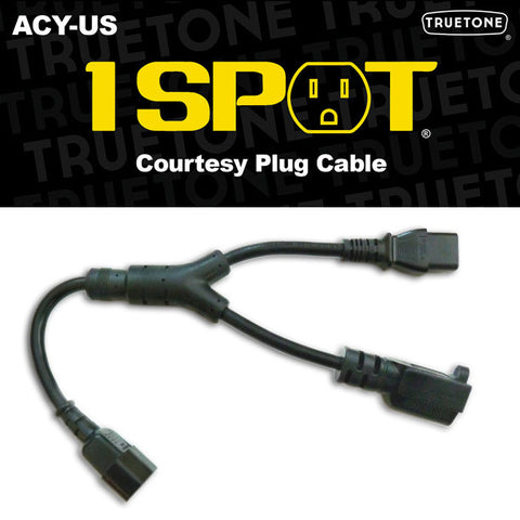 Truetone 1 SPOT ACY-US Courtesy Plug Cable, Truetone - Lark Guitars