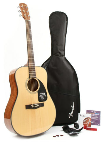 zSOLD - Fender DG-8S Acoustic Pack (118) - Available at Lark Guitars