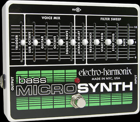 Electro-Harmonix Bass Microsynth Analog Micro Synthesizer