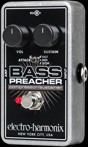 Electro-Harmonix Bass Preacher Bass Compression Sustainer