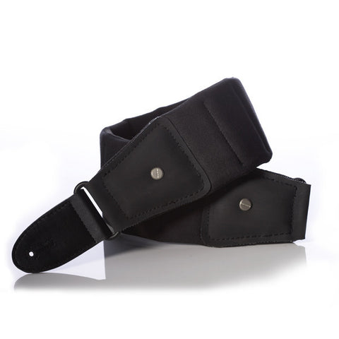 Mono M80 Betty Strap Long - Jet Black - M80-BTY-BLK-L - Available at Lark Guitars
