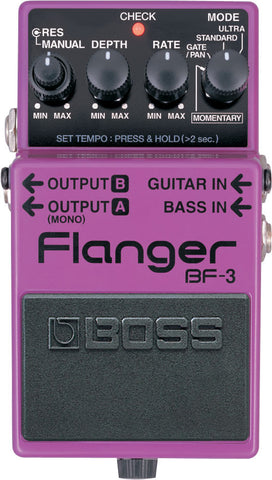 Boss BF-3 Flanger, Boss - Lark Guitars