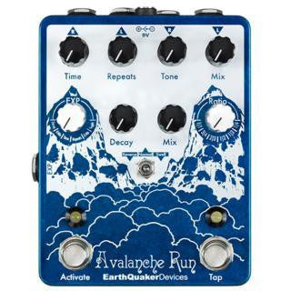 EarthQuaker Devices Avalanche Run - Stereo Delay & Reverb w/Tap