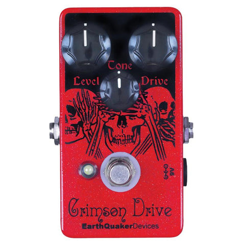 EarthQuaker Devices Crimson Drive - Overdrive