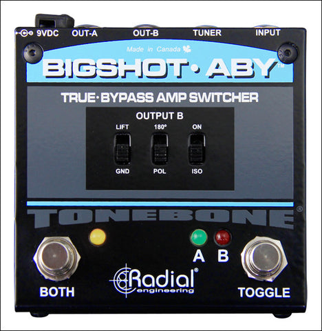 Radial BigShot ABY True-Bypass Switcher