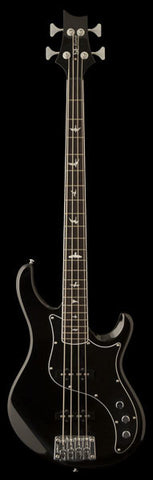 PRS SE Kestrel Bass - Black (616) - Available at Lark Guitars