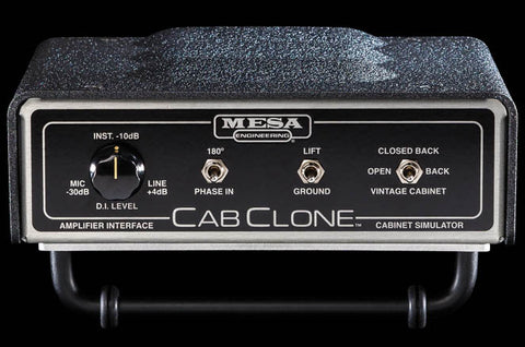 Mesa Boogie CabClone Cabinet Simulator - 8 Ohm - Available at Lark Guitars