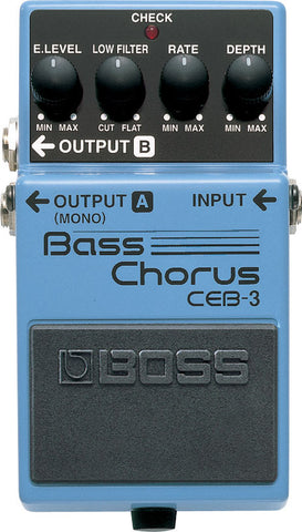 Boss CEB-3 Bass Chorus, Boss - Lark Guitars