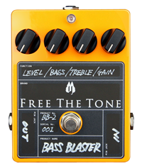 Free The Tone Custom Series BB-2 Bass Blaster Overdrive