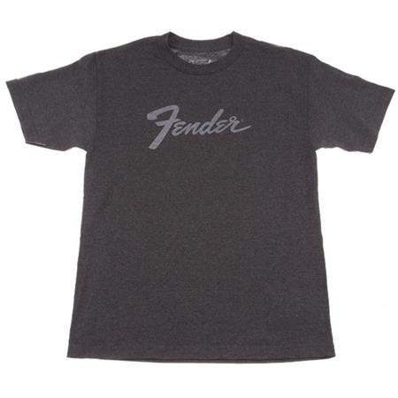 Fender Amp Logo T-Shirt - Charcoal - Small - Available at Lark Guitars