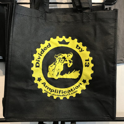 Divided By 13 Joyride Tote Bag - Black & Yellow - Available at Lark Guitars