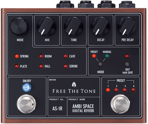 Free The Tone Ambi Space Digital Reverb AS-1R