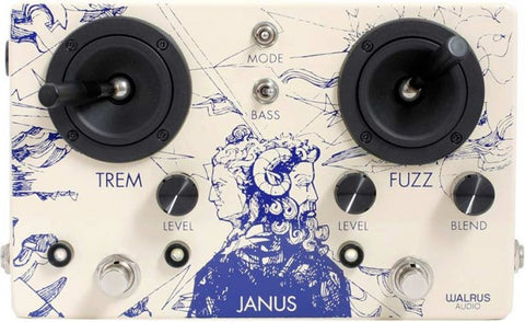 Walrus Audio Janus Tremolo Fuzz, Walrus Audio - Lark Guitars