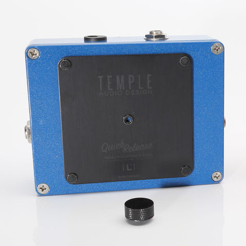 Temple Quick Release Pedal Plate - Large - TQR-L - Available at Lark Guitars