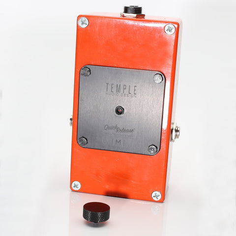 Temple Quick Release Pedal Plate - Medium - TQR-M - Available at Lark Guitars