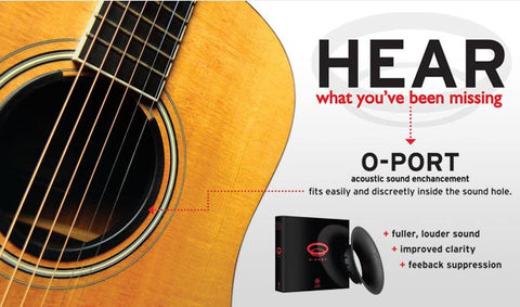 Planet Waves O-Port Small - Black - Available at Lark Guitars