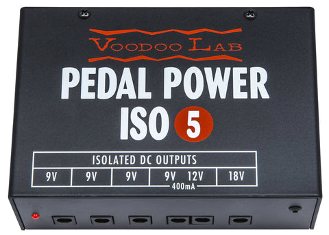Voodoo Lab Pedal Power ISO-5 - Available at Lark Guitars