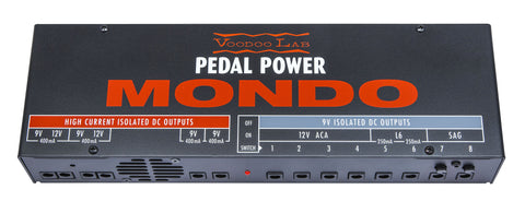 Voodoo Lab Pedal Power MONDO - Available at Lark Guitars