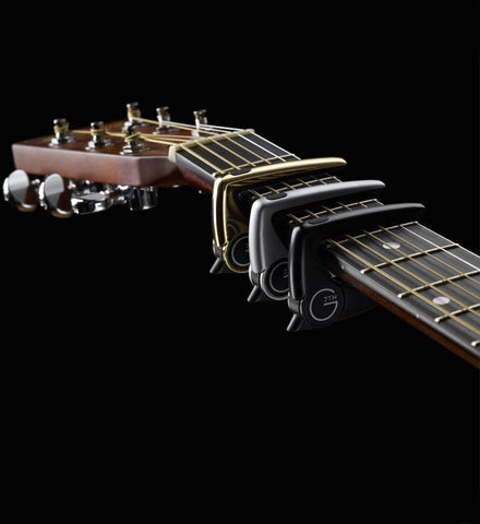 G7th Performance 2 Capo - Silver - Available at Lark Guitars