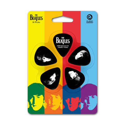 Planet Waves The Beatles Picks - Meet The Beatles - 10-Pack - Thin - Available at Lark Guitars