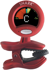 Snark SN-2 All Instrument Clip-On Tuner - Red