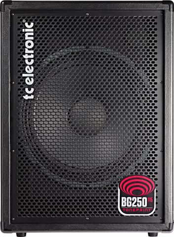 TC Electronic BG250-115 250-watt 1x15 Bass Combo (034)