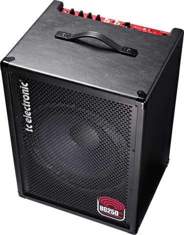 TC Electronic BG250-115 250-watt 1x15 Bass Combo (034), TC Electronic - Lark Guitars