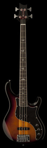 PRS SE Kestrel Bass - Tri-Color Sunburst (847) - Available at Lark Guitars